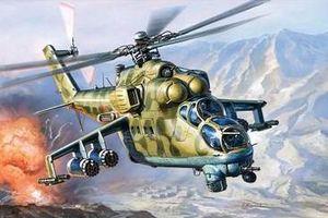 Vì sao Mỹ chọn trực thăng tấn công hạng nặng Mi-24 của Nga trong huấn luyện chiến đấu?