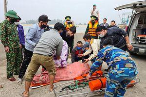 Tàu cá bị chìm, 1 thuyền viên tử vong khu vực gần đảo Mắt