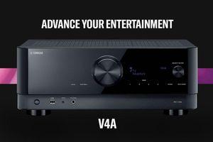 Yamaha RX-V4A, receive xem phim 8K hiện đại, đa tính năng với mức giá phải chăng