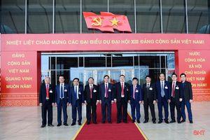 Danh sách Đoàn đại biểu Hà Tĩnh dự Đại hội XIII của Đảng
