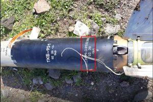 Xác tên lửa vác vai hiện đại của Nga được tìm thấy ở Syria