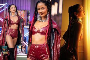 H'Hen Niê tái xuất sàn diễn thời trang, nổi loạn với phong cách Hip Hop