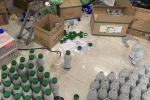 TP.HCM: Triệt phá đường dây sản xuất, buôn bán thuốc bảo vệ thực vật giả