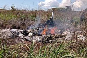 Chủ tịch CLB Palmas và 4 cầu thủ thiệt mạng sau thảm kịch máy bay rơi