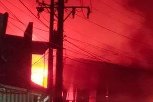 Cháy tại công ty Công ty Gỗ Mỹ Products
