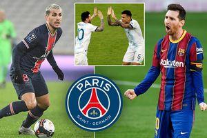 Đồng đội ở tuyển Argentina mời gọi Lionel Messi tới PSG