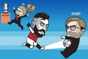 Biếm họa 24h: Bruno Fernandes xuất chiêu, MU đá bay Liverpool