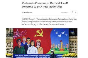 Truyền thông quốc tế đưa tin đậm nét về Đại hội XIII của Đảng