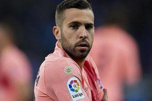 Jordi Alba thừa nhận bị ghét nhất