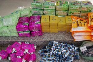 Bắt giam 2 bị can vận chuyển 89 kg ma túy