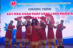 Tặng 1.300 phần quà Tết cho trẻ khuyết tật, mồ côi ở TP Hồ Chí Minh