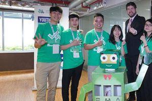 Robot bảo vệ môi trường