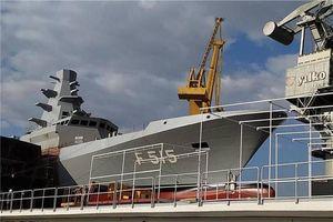 Thổ Nhĩ Kỳ hạ thủy khinh hạm tàng hình lớp Istanbul đầu tiên