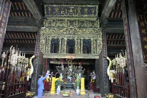 Độc đáo bảo vật quốc gia Cửa võng tại đình làng Thổ Hà ở Bắc Giang