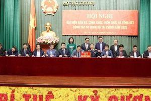 Chùm ảnh Hội nghị Đại biểu cán bộ, công chức, viên chức và Tổng kết công tác cơ quan Bộ Tài chính năm 2020