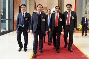Đoàn đại biểu Hà Tĩnh tại Đại hội XIII của Đảng