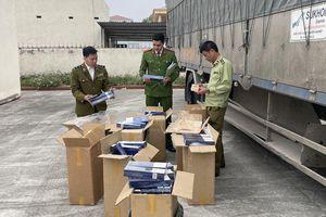 Bắt giữ xe tải vận chuyển 4.500 bao thuốc lá lậu tại Thanh Hóa