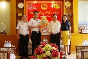 Học viện Hải quân: Thăm, chúc Tết lãnh đạo tỉnh và thành phố Nha Trang