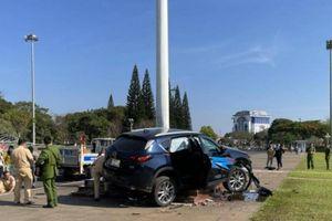 Tai nạn ở cột cờ trung tâm TP Pleiku: Tài xế có tiền sử bệnh động kinh?