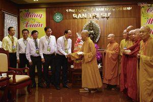 Lãnh đạo TP.HCM thăm, chúc Tết chư tôn đức Giáo hội Phật giáo Việt Nam