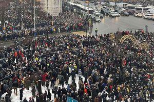 Nga yêu cầu Mỹ giải trình về cuộc biểu tình trái phép ở Matxcơva