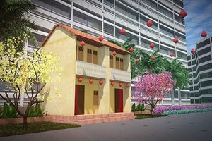 'Sắc xuân hội ngộ' tại Hội hoa xuân Phú Mỹ Hưng Tết Tân Sửu