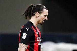 Milan thua ngược Inter sau thẻ đỏ của Ibrahimovic