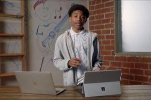 Quảng cáo so sánh giữa MacBook Pro 13 inch và Surface Pro 7