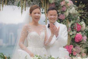 Hôn lễ có 20 khách mời của Á hậu Hong Kong Chu Tuệ Mẫn