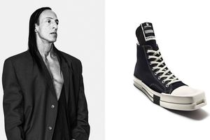 Rick Owens ra mắt giày lạ kết hợp cùng Converse