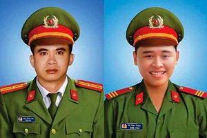 Cấp bằng Tổ quốc ghi công cho 2 cảnh sát hy sinh ở Đà Nẵng