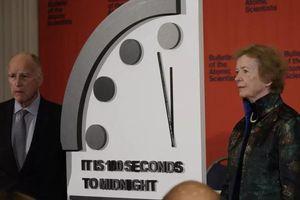 Tối nay, các nhà khoa học công bố thời gian của đồng hồ tận thế