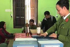 Thừa Thiên- Huế: Phát hiện số lượng lớn rượu ngoại không nguồn gốc