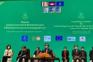 Chính phủ Campuchia công bố kết quả tổng điều tra dân số năm 2019
