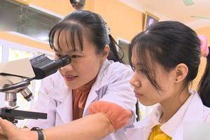 Cô giáo nuôi dạy HS đoạt giải quốc tế nhận bằng khen của Bộ trưởng Bộ GD&ĐT