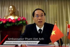 Đại sứ Phạm Việt Anh tham dự Hội nghị trực tuyến về Biến đổi khí hậu và phát triển bền vững