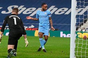 Đại thắng 5-0, Man City giành lại ngôi đầu Ngoại hạng Anh