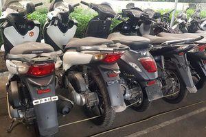 Triệt phá đường dây chuyên trộm xe máy hạng sang ở TPHCM