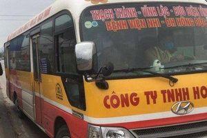 Xử phạt lái xe buýt vi phạm nồng độ cồn