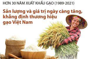 Sản lượng và giá trị gia tăng, khẳng định thương hiệu gạo Việt Nam