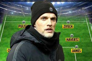 Tuchel sẽ xếp đội hình nào ở trận ra mắt Chelsea?