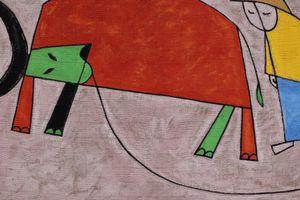 Ngắm tranh con Trâu tiễn Tí đón Sửu đầy sức sống của các họa sĩ Việt