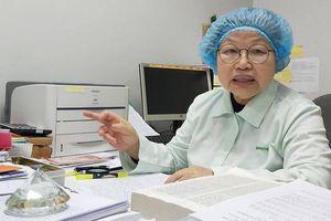 Nữ Anh hùng 54 năm gắn bó với phòng thí nghiệm, vaccine