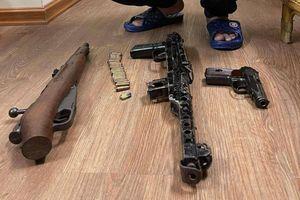 Hà Nội: Triệt phá đường dây cờ bạc, cho vay nặng lãi có trang bị súng