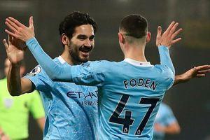 Man City thắng 5 sao, chiếm ngôi đầu của Man Utd