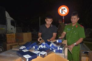 Điều tra mở rộng xe tải chở 9.000 bao thuốc lá lậu