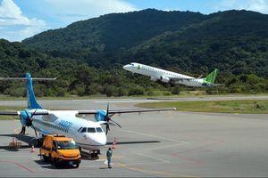 Hai hãng hàng không nội địa khai thác ''đường bay vàng'' TP.HCM - Côn Đảo