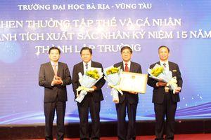 Kỷ niệm 15 năm thành lập Trường Đại học Bà Rịa - Vũng Tàu