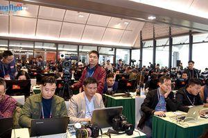 Gần 500 phóng viên báo chí tác nghiệp tại Đại hội đại biểu toàn quốc lần thứ XIII của Đảng