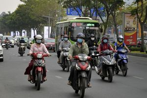 TP.HCM tiếp tục kiến nghị thu phí kiểm định khí thải xe máy
